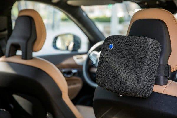 Blueair Cabin P2i mit Sensortechnik - Premium Luftreiniger Mobil für Autos, Vans, Kleinbusse, Trucks, Taxis